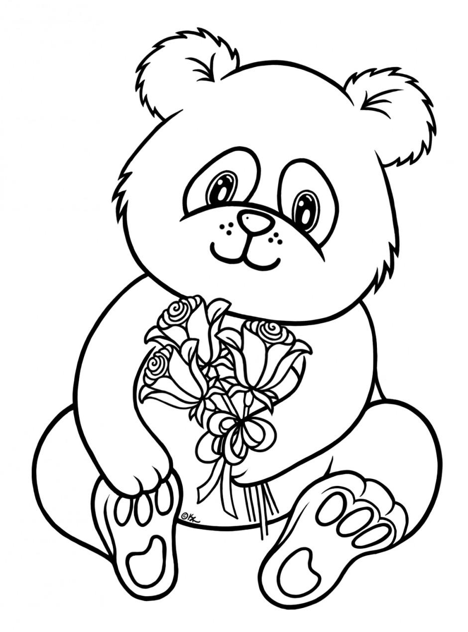 coloring panda panda eating bamboo drawing at getdrawings free download panda coloring