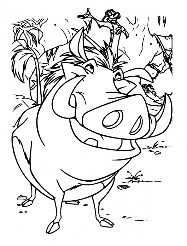 free lion king coloring pages lion king coloring page for kids disney coloring pages free lion pages coloring king