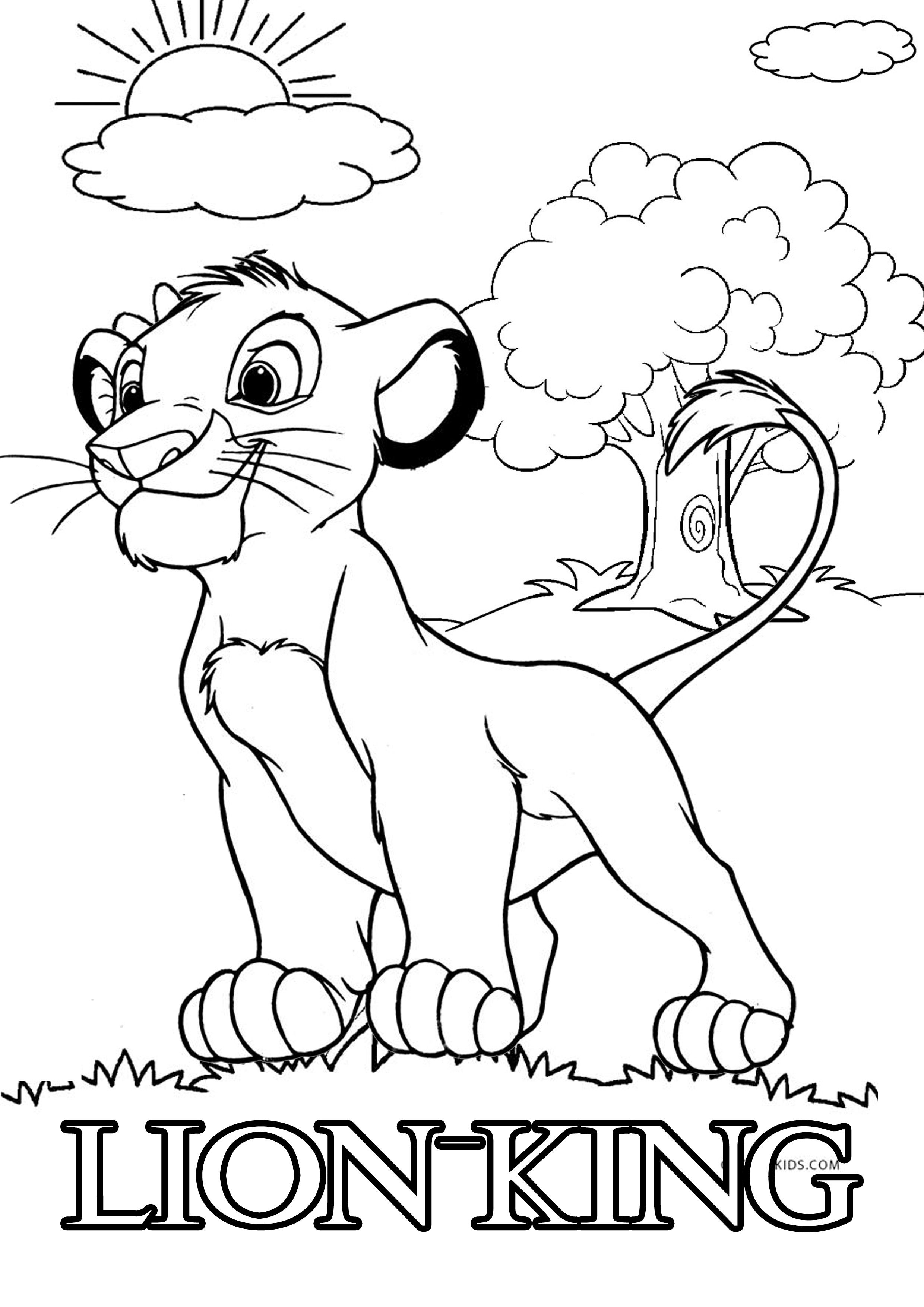 free lion king coloring pages lovely scar lion king coloring pages  info coloring lion free pages coloring king